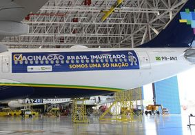 Avião que vai buscar vacinas na Índia decola nesta sexta (15) do Recife