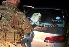Equipes da Polícia Rodoviária Federal foram responsáveis pela prisão
