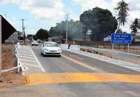 Após mais de 5 meses, trânsito na ponte sobre o Rio Preto, em Santa Rita, é liberado