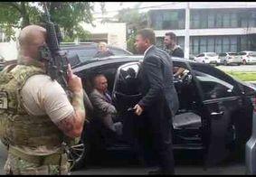 Temer é transferido para batalhão da PM