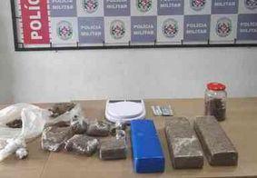 Homem é preso no momento em que se preparava para fazer 'Delivery' de drogas em JP