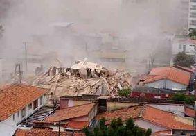 Bombeiros continuam buscas por oito desaparecidos em escombros de prédio em Fortaleza