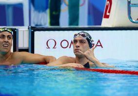 Fernando Scheffer na prova dos 200m livre