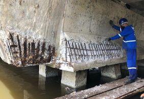 Ponte e viaduto entre Bayeux e João Pessoa começam a ser restaurados