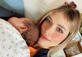 Carol Dias mostra rosto da filha com Kaká pela primeira vez