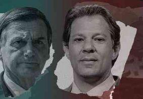 Datafolha: Bolsonaro com 56% e Haddad com 44%; diferença cai 6 pontos