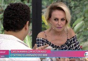 Victor Hugo vai em Ana Maria Braga e internet não perdoa; veja memes