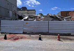 Vídeo: Responsáveis por prédio que desabou serão notificados