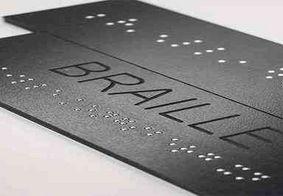 Pessoas com deficiência visual poderão receber cartões bancários em braile