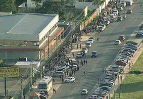 Anúncio de vaga de emprego em supermercado provoca fila quilométrica no DF