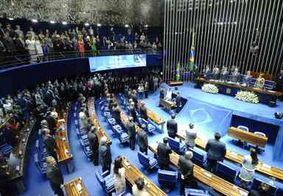 Após adiamento, José Maranhão comanda sessão para definir novo presidente do Senado