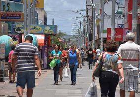 Centro de Maceió e shoppings ampliam o horário de funcionamento neste sábado (14)