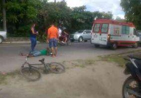 Ciclista é atropelado e acusado foge sem prestar assistência