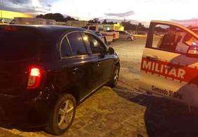 Três pessoas são presas com carro roubado em João Pessoa