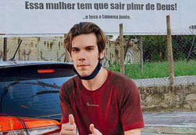 YouTuber faz outdoor pedindo saída de Karol Conká do BBB 21