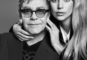 Elton John acredita em Oscar para Lady Gaga: 'Aposto minha casa'