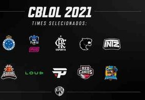Veja a lista com os times selecionados para o CBLoL 2021