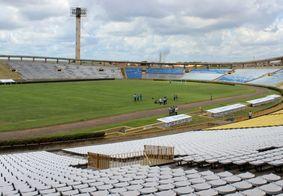 Estádio Albertão, em Teresina