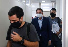 Após audiência de custódia, Crivella vai para presídio no Rio