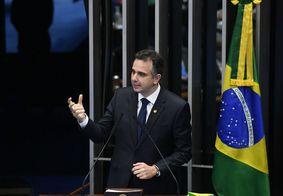 Com 57 votos, Rodrigo Pacheco é eleito presidente do Senado