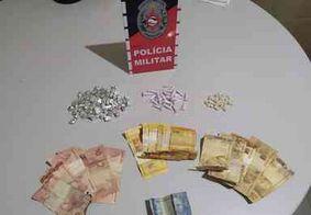 Homem é preso suspeito de tráfico de drogas, em Pitimbu