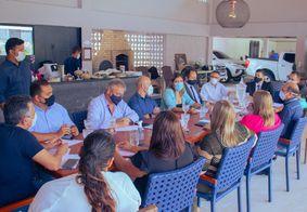 Consórcio Metropolitano se reúne em Santa Rita para discutir ações conjuntas de combate à pandemia