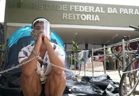 Em carta, estudantes em protesto na UFPB pedem apoio à população