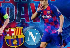 Saiba onde assistir Barcelona x Napoli neste sábado (8)