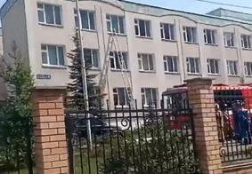 Loca foi cercado pelas forças de segurança