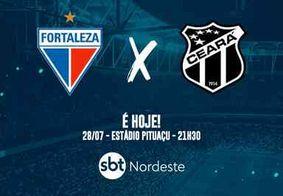 Pela semifinal, Ceará e Fortaleza se enfrentam nesta terça (28)