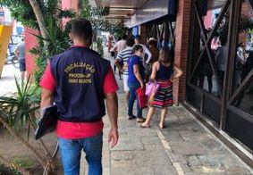 Procon autua 27 agências por descumprimento à legislação em João Pessoa