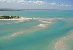 Praia de Pontinha, em Lucena, na Paraíba.