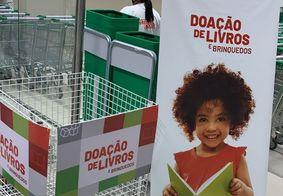 A campanha pretende incentivar a brincadeira infantil e a leitura