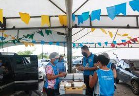 João Pessoa aplica 2ª dose das vacinas Coronavac e AstraZeneca nesta terça (22)