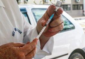 Vacinação em João Pessoa contra á Covid-19