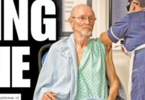 Morre 1º homem vacinado contra a Covid, aos 81 anos