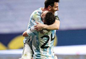 Argentina garante classificação após vencer mais uma na Copa América