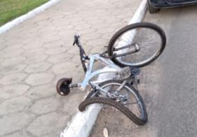 Ciclista morre na frente do neto após ser atingido por um carro em João Pessoa