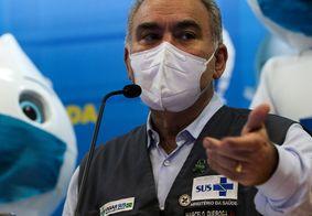 Ministro afirma que população estará imunizada até o fim do ano