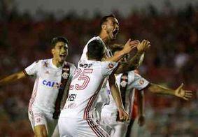 Flamengo joga mal, mas insiste e consegue virada no fim sobre a Portuguesa
