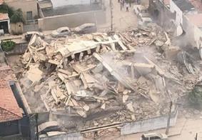 Desabamento de prédio residencial deixa dois mortos e três feridos em Fortaleza