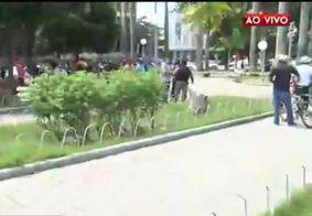 Crime foi registrado na Praça dos Três poderes, na Capital
