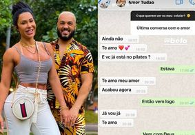 Gracyanne Barbosaexpõe conversa com Belo