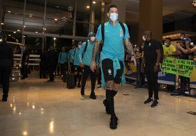 Chegada da Seleção Brasileira em Barranquilla para o jogo contra a Colômbia pelas Eliminatórias da Copa.