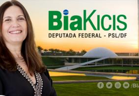 Bia Kicis não é mais vice-líder do governo