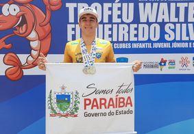 Paraibano conquista três vitórias no Torneio Norte Nordeste de Natação