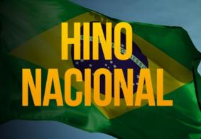 Execução do Hino Nacional e da Paraíba passa a ser obrigatória em eventos esportivos