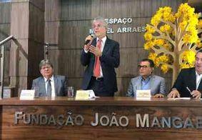 Ricardo Coutinho toma posse como presidente de fundação criada pelo PSB, em Brasília