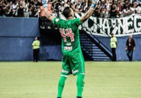 """Após """"troféu da ironia"""", goleiro Sidão se pronuncia e pede respeito"""