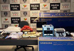 Polícia estoura esquema de tráfico milionário em João Pessoa